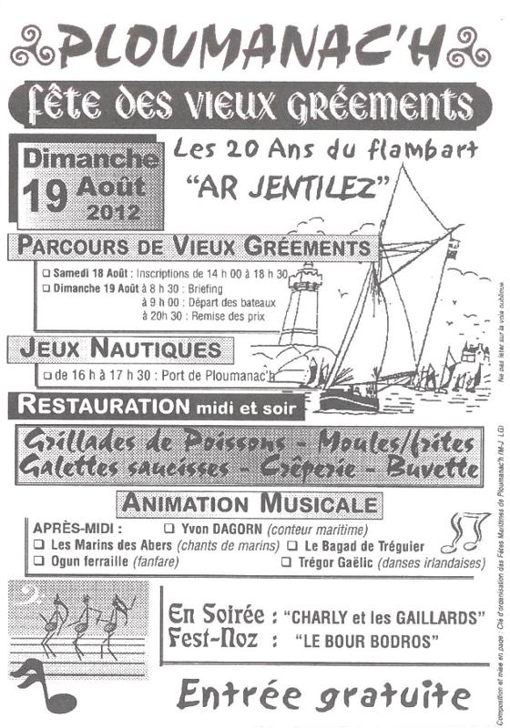 Programme des 20 ans - Ar Jentilez
